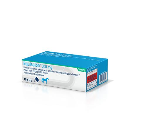 Equisolon: 10 zakjes van 9 g in een doos